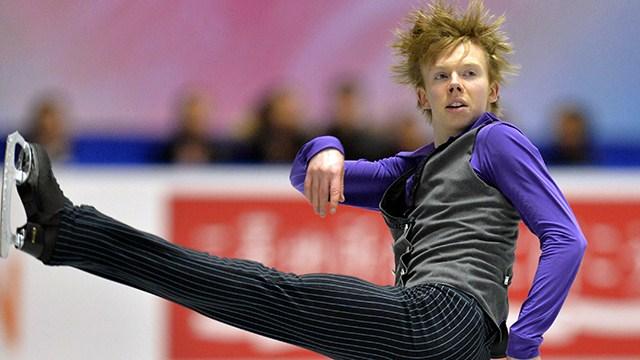 Kevin Reynolds figure skates