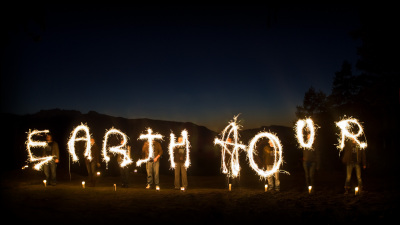 Celebrating Earth Hour 2010