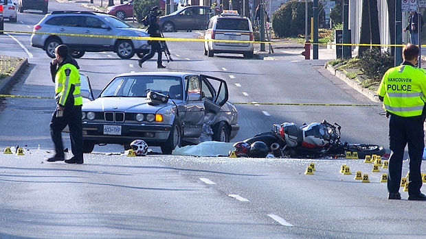 CRASH INTERSECTIONS IN METRO VANCOUVER