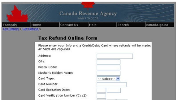 canada-revenue-agency-sample-phishing-scam-page