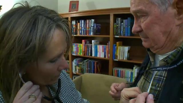 Family hears son's heart beating in another man's chest