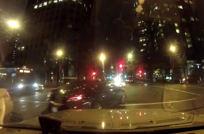 Bad driving video prompts Vancouver police probe