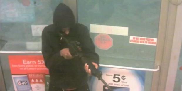 Assault Rifle Aids Armed Robbery At Scarborough Gas Station