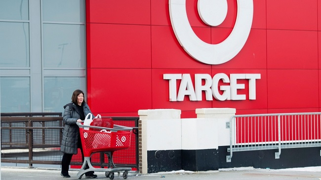 Target leaving Canada