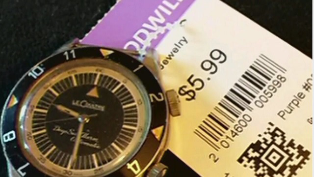 Man sells watch he found at secondhand store for $35,000