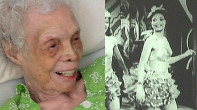102-year-old woman watches footage of 1930s dance career for first time
