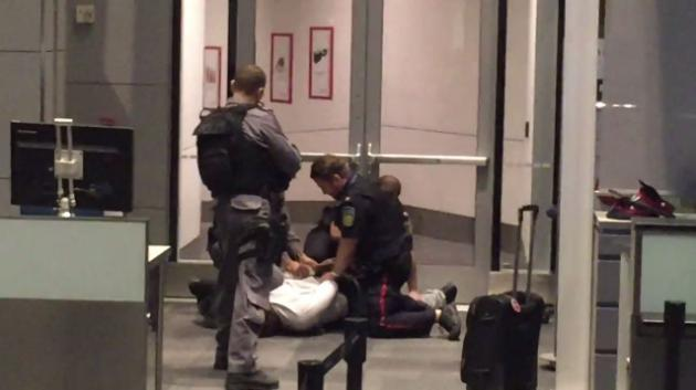 Man Tasered by police at Toronto's Pearson airport