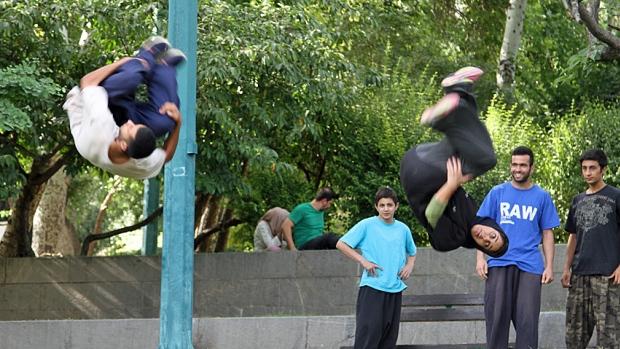 iran-parkour