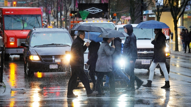 Wetter, cooler weather on the way for Vancouver