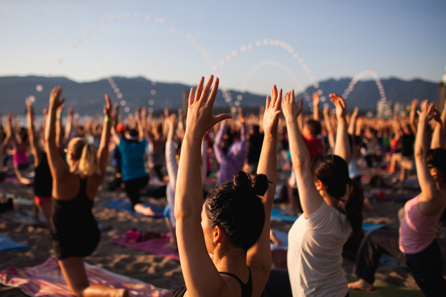 lululemon Sunset Yoga