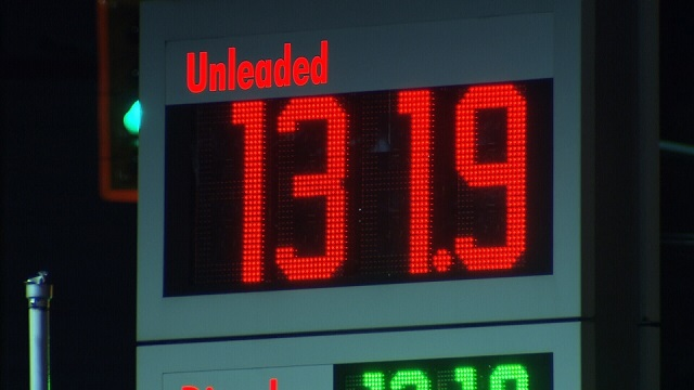 spiking gas prices