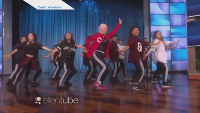B.C. dance teacher gets down on Ellen