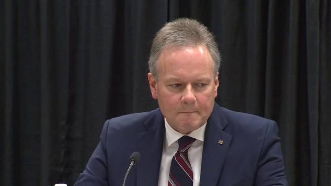 central bank governor Stephen Poloz