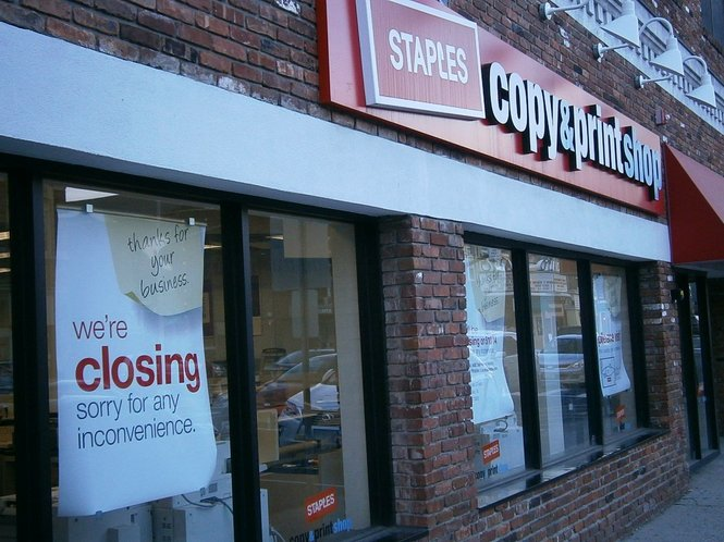 Staples Is Closing Another 50 Stores