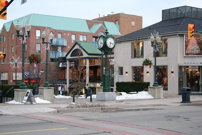Oakville-Ontario-Downtown