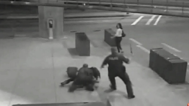 Disturbing video shows transit officers beating UBC student