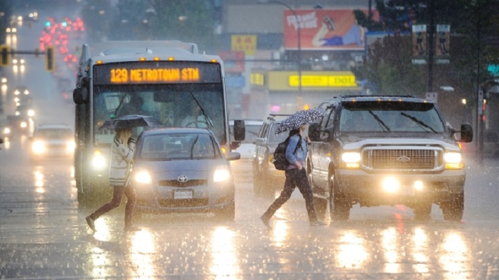 Metro Vancouver breaks 61-year-old rainfall