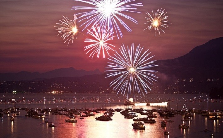 Fireworks - Celebration of lights - Vancouver