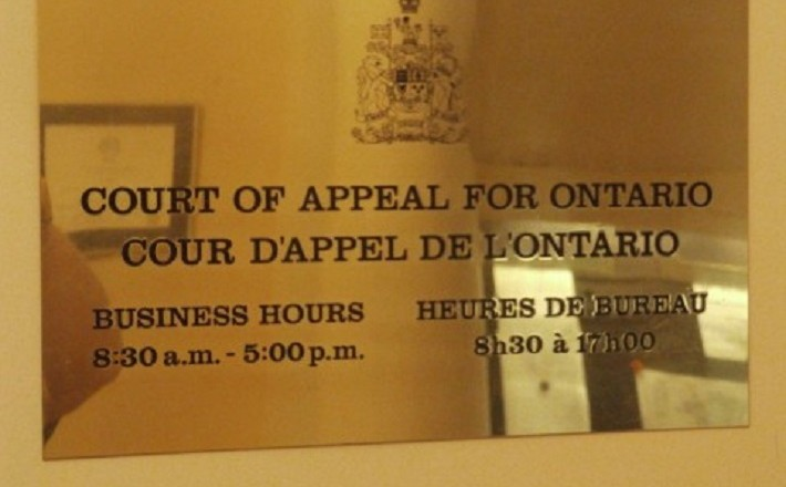 Ontario's Court of Appeal