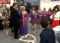 Couple marries in Costco