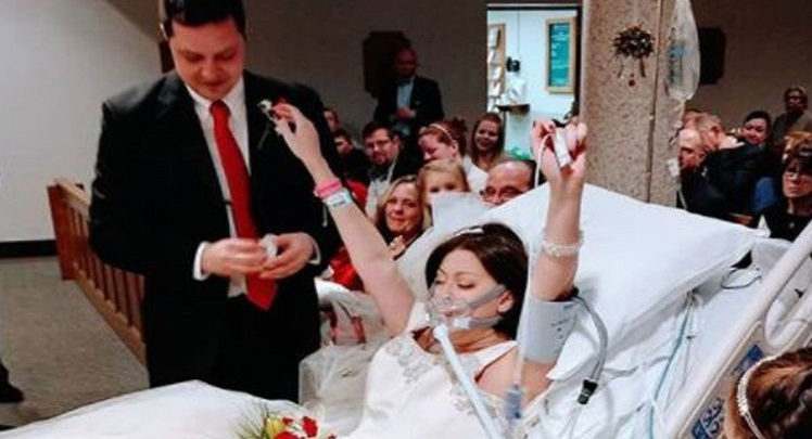 Cancer patient dies hours after getting married