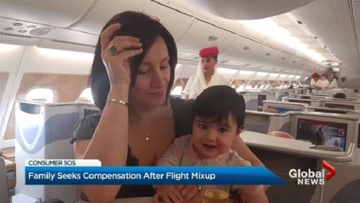 Toronto family out $8,000 after infant daughter's Air Canada booking goes wrong