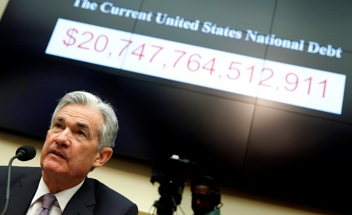 Federal Reserve Chairman Jerome Powell delivers the semi-annual Monetary Policy Report to the House Financial Services Committee hearing in Washington