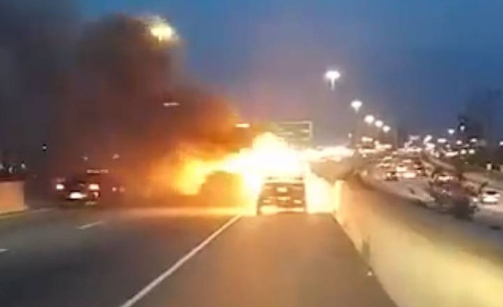Hyundai owner says he nearly died after car bursts into flames on Toronto highway
