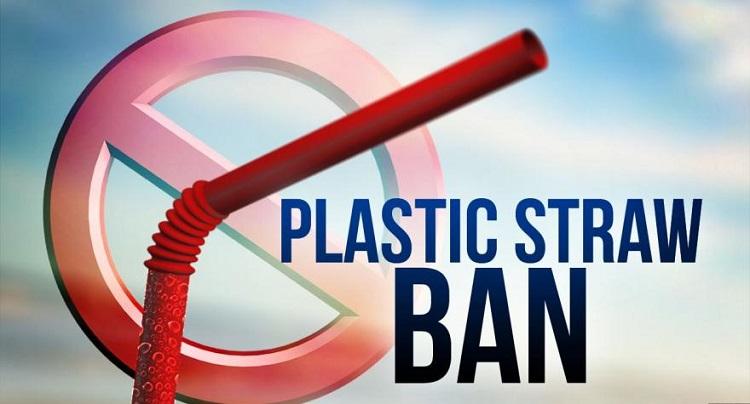 ban single-use plastic straws