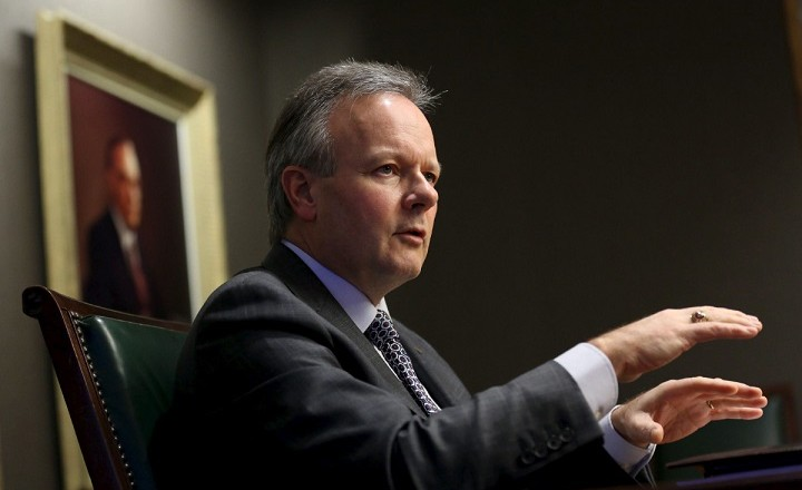 Bank of Canada Governor Poloz speaks during an interview in Ottawa