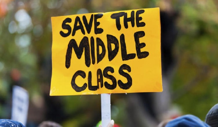 Middle Class Disappears