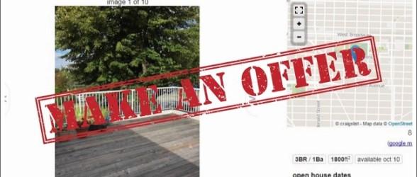 صاحبخانه ونکووری تعیین اجاره بها را به عهده متقاضیان بی شمار گذاشت