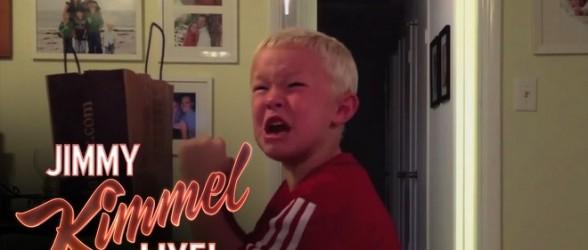 عزیزم ،تمام شکلاتهای هالووین را خوردیم !(فیلم)