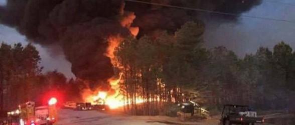 انفجار خط لوله در آلاباما ، افزایش نرخ بنزین در تورنتتو