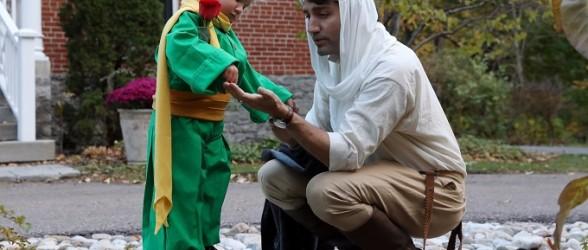 جاستین ترودو و خانواده برای هالووین و Trick or Treat چه لباسی پوشیدند؟(عکس)