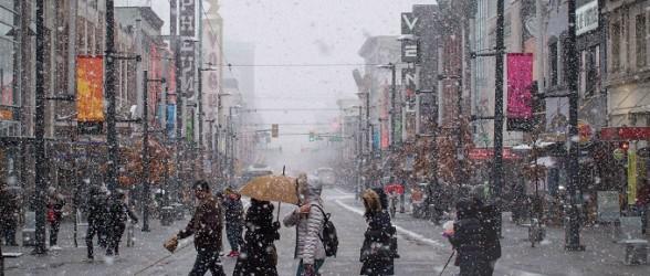 اگر مطمئن هستید، روی بارش برف روز کریسمس در ونکوور شرط ببندید!