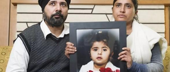 کودک سه ساله بریتیش کلمبیایی که پزشک گفت سرما خورده ،48 ساعت بعد بخاطر ذات الریه شدید درگذشت