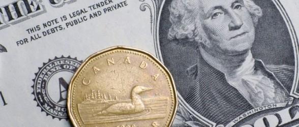 کاهش قابل ملاحظه ارزش دلار آمریکا و تقویت دلار کانادا در بازارهای جهانی