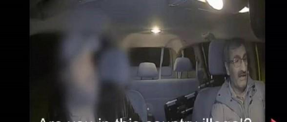 برخورد نژادپرستانه مسافر تاکسی با راننده ایرانی در ساسکاتون(فیلم)