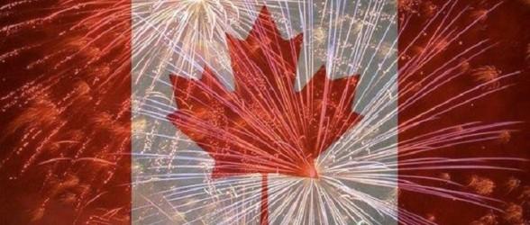 زمان ومکان مراسم آتش بازی Canada Day در ده شهر ونکوور بزرگ