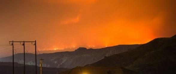 فرار از میان شعله های آتش در مرکز بریتیش کلمبیا (فیلم)