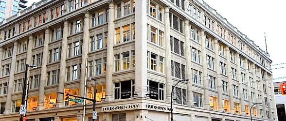 شرکت هادسن بی ساختمان اصلی خود در ونکوور را به یک خریدار آسیایی واگذار کرد