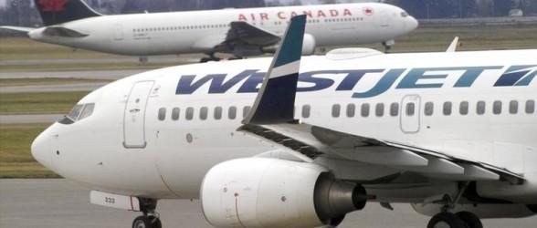 افزایش هزینه چمدان همراه مسافر در پروازهای وست جت و ایرکانادا