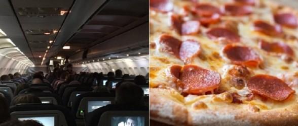 خلبان ایرکانادا برای مسافران هواپیمای گرفتار روی باند 23 پیتزا سفارش داد