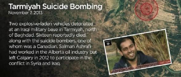 تروریستهای کانادایی مسئول قتل دهها تن و چندین عملیات تروریستی خارج از کشور هستند