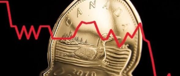 سقوط بیشتر دلار کانادا همراه بدبینی کسبوکارها نسبت به رشد اقتصادی