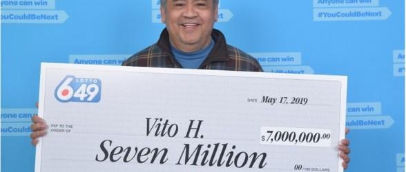 برنده لاتاری هفت میلیون دلاری ونکوور تصمیم دارد هنوز نظافتچی بماند
