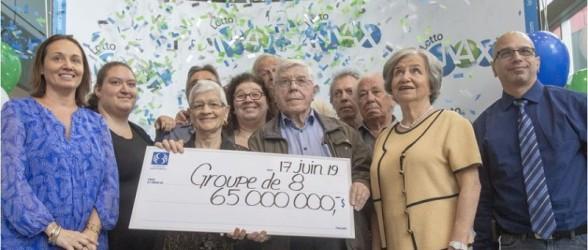 خانواده مونترالی که دو سال قبل برنده لاتاری یک میلیون دلاری شد،  این هفته جایزه ۶۵ میلیون دلاری را هم برد
