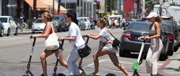 اعمال محدوده سرعت مجاز برای دارندگان اسکوتر برقی در کلگری