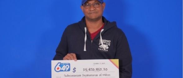 برنده انتاریویی لاتاری 25 میلیون دلاری قصد ندارد محل کارش را ترک کند!